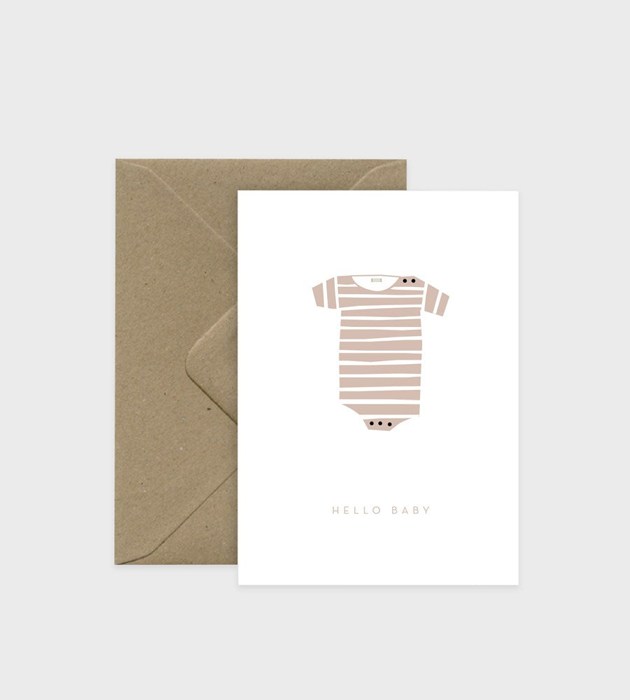 Michoucas Design | Card | Baby Rose