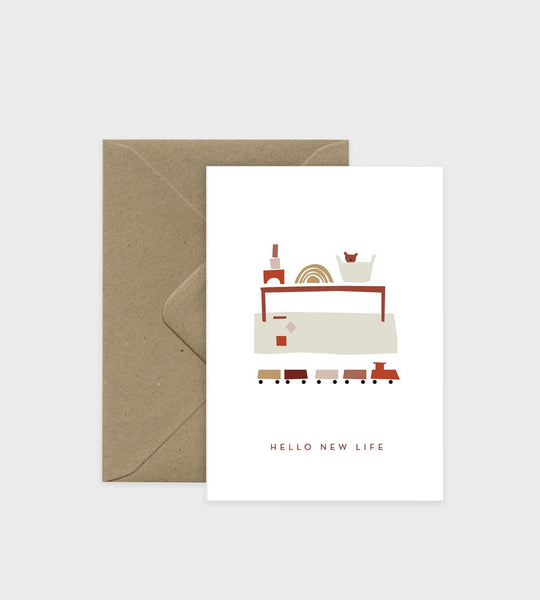 Michoucas Design | Card | Hello New Life