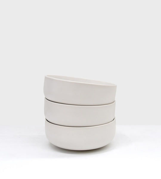 Milano Breakfast Bowl Winter White