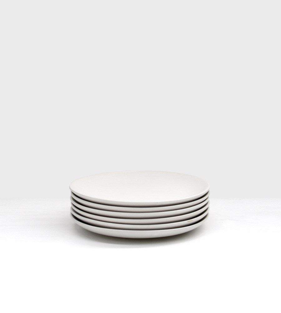 Milano Side Plate | Winter White