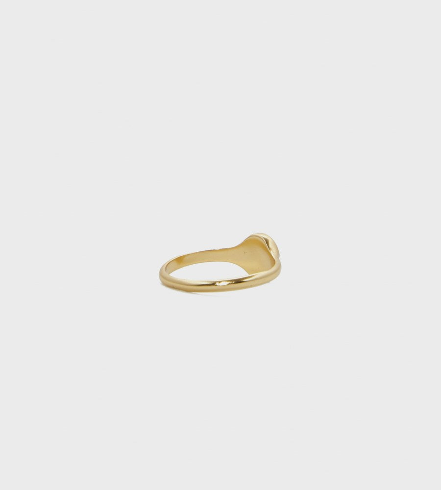 Mimi Et Toi | Little Oval Ring | Gold
