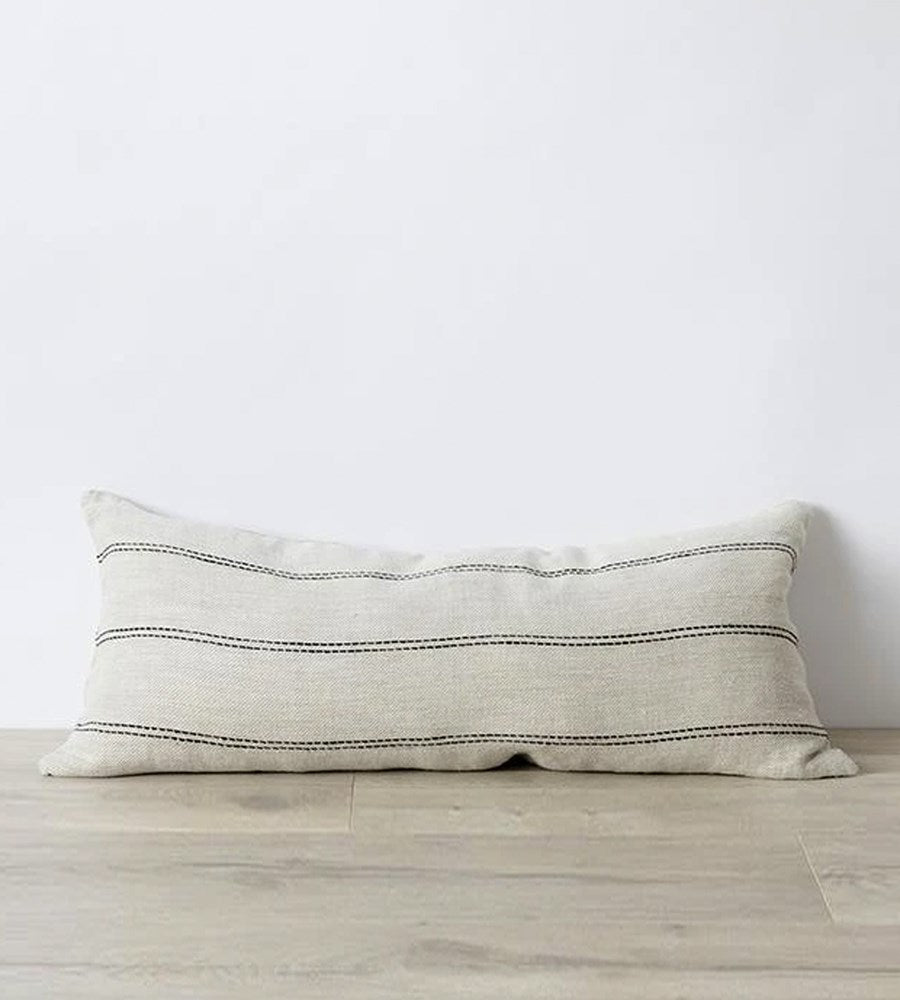 Cultiver | Mira Linen Cushion | Ana Double Line