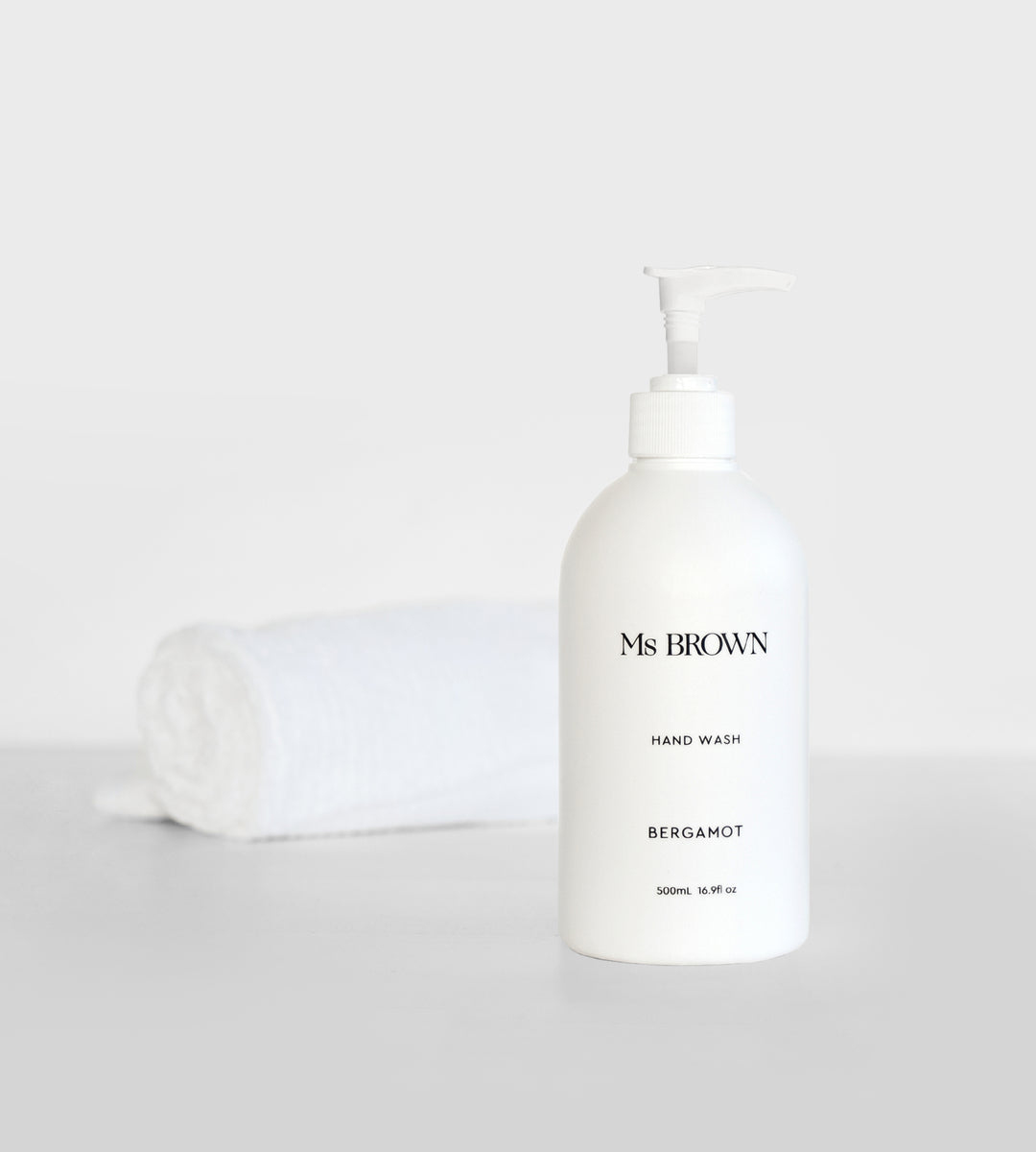 Ms Brown | Hand Wash 500ml | Bergamot