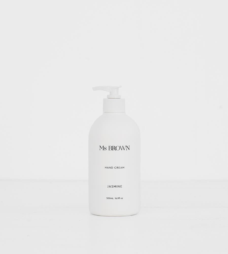 Ms Brown | Hand Cream 500ml | Jasmine