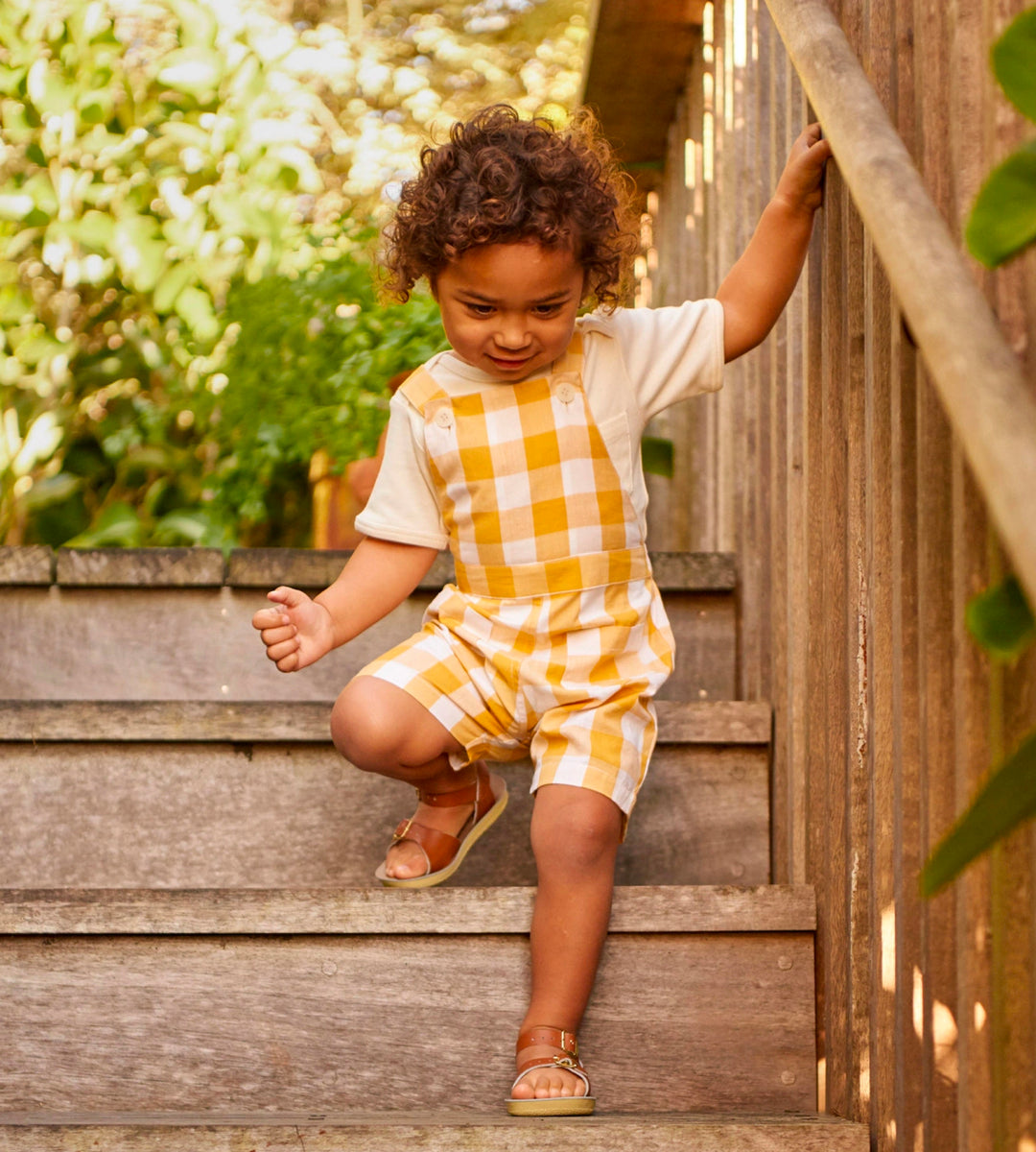Nature Baby | Alex Overalls | Honey Check