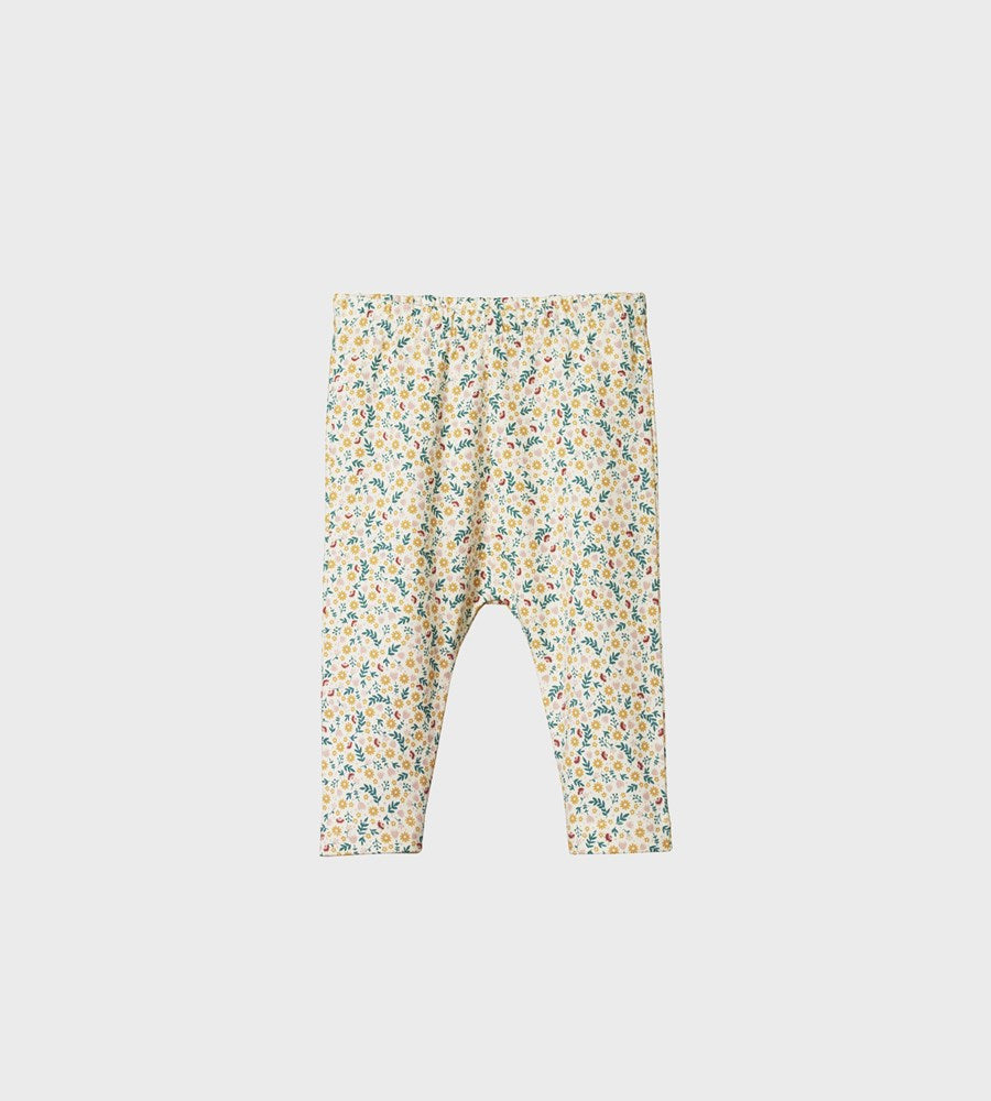Nature Baby | Baby Leggings | June's Garden Print