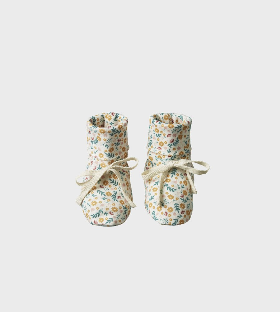 Nature Baby | Booties | June's Garden Print