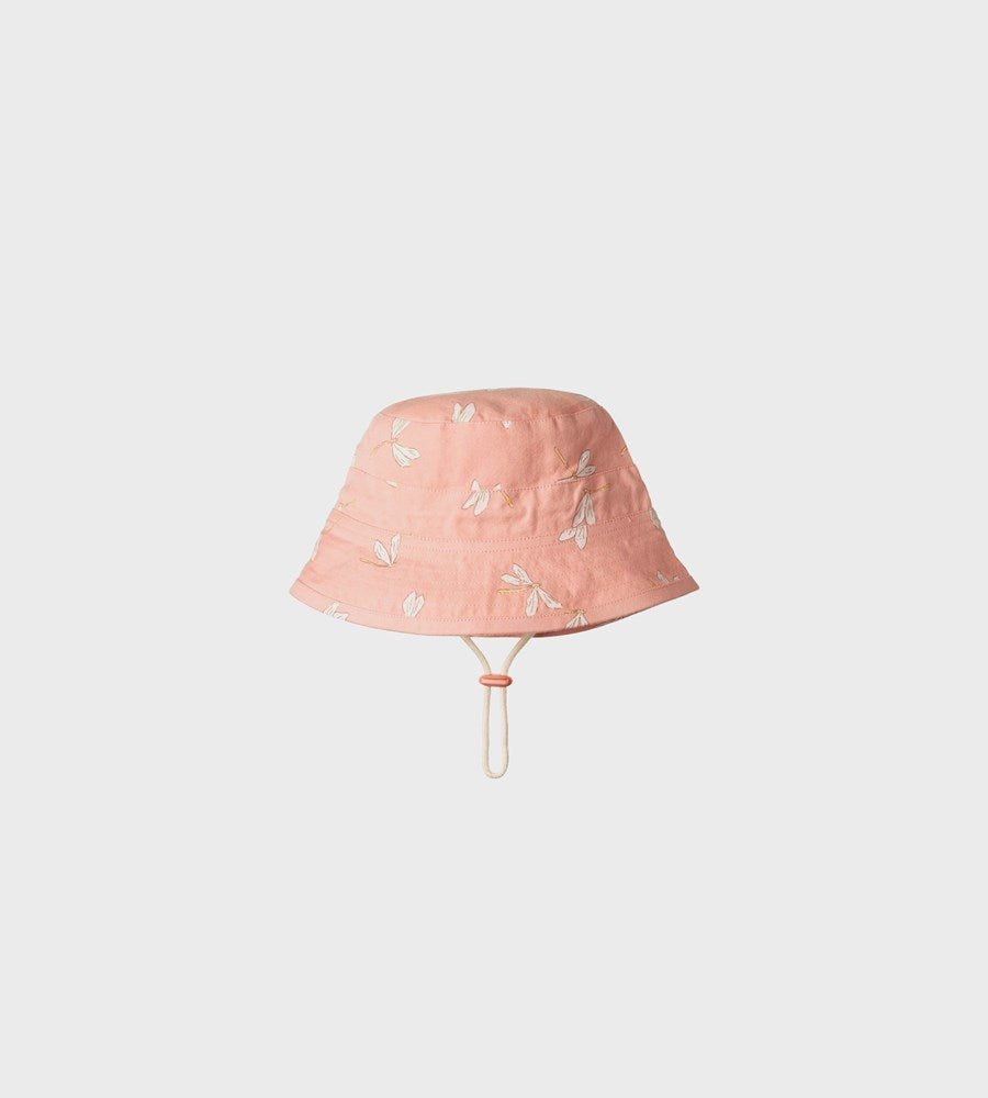 Nature Baby | Bucket Sunhat | Dragonfly Lily Print