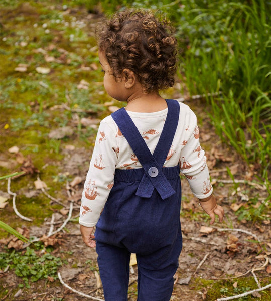 Nature Baby | Cord Overalls | Navy