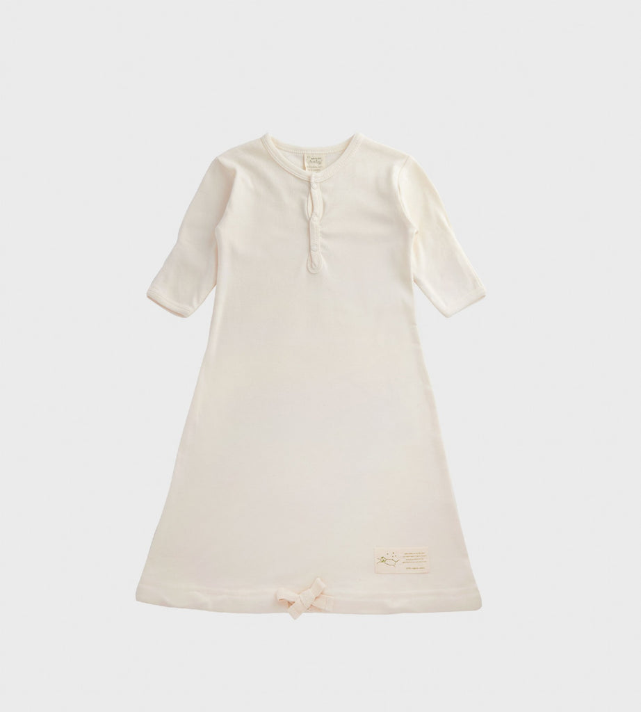 Nature Baby | Cotton Sleeping Gown | Natural