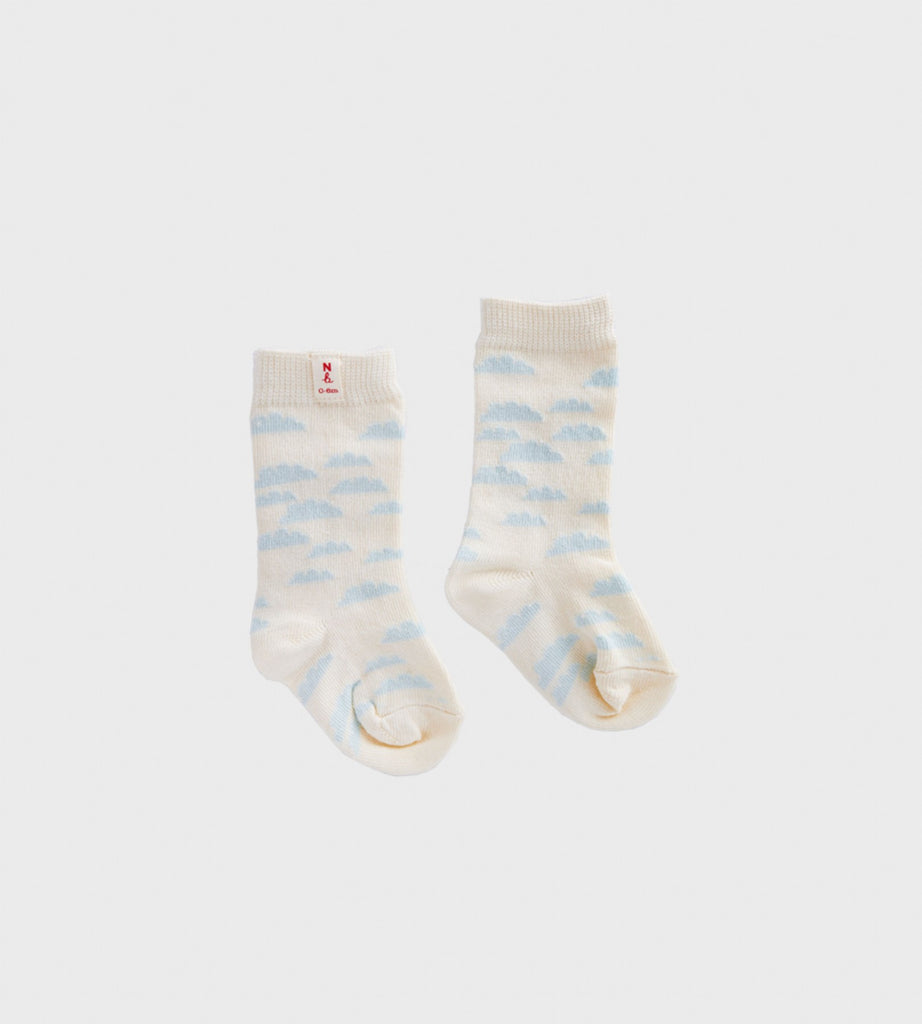 Nature Baby | Cotton Socks | Clouds
