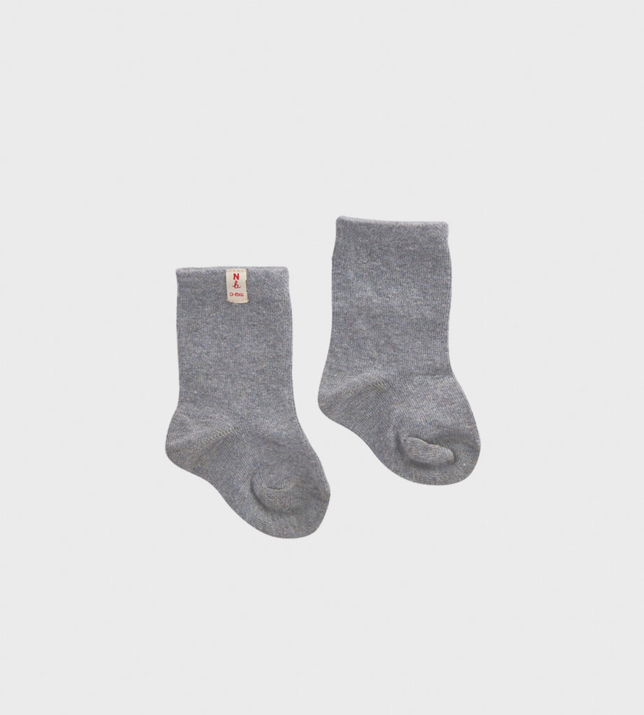 Nature Baby | Cotton Socks | Grey Marle