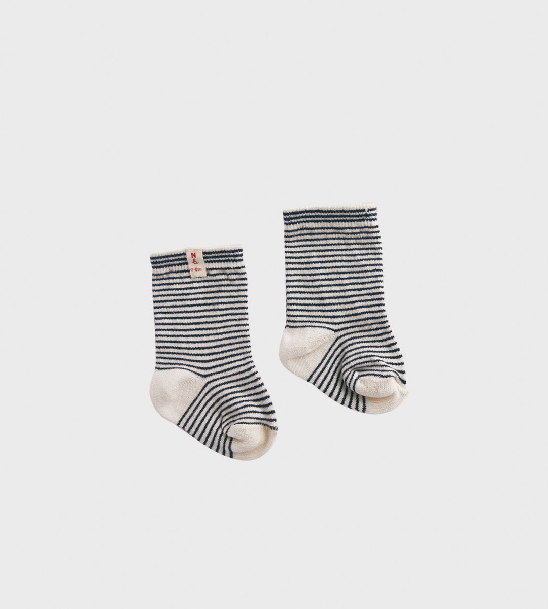 Nature Baby | Cotton Socks | Navy Stripe