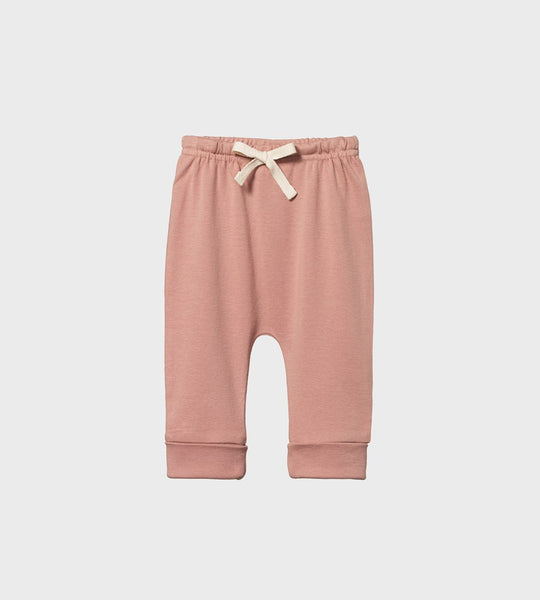 Nature Baby | Drawstring Pants | Camellia