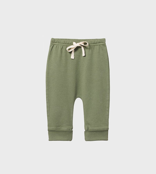 Nature Baby | Drawstring Pants | Olive