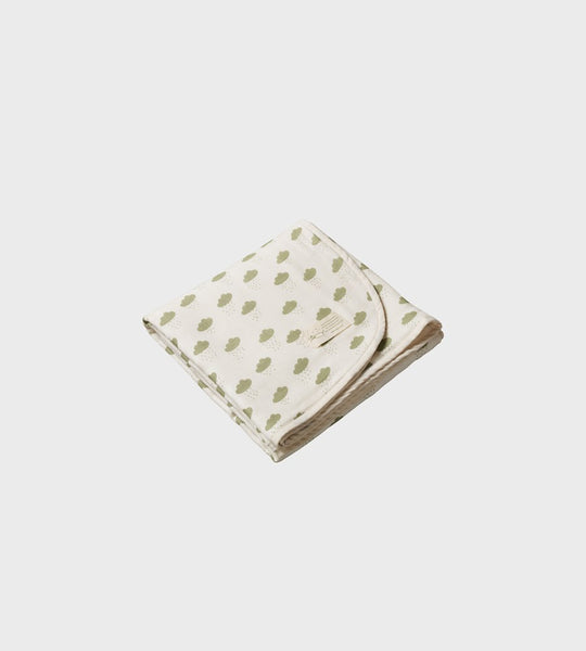 Nature Baby | Dreamlands Muslin Blanket | Rain Cloud Print