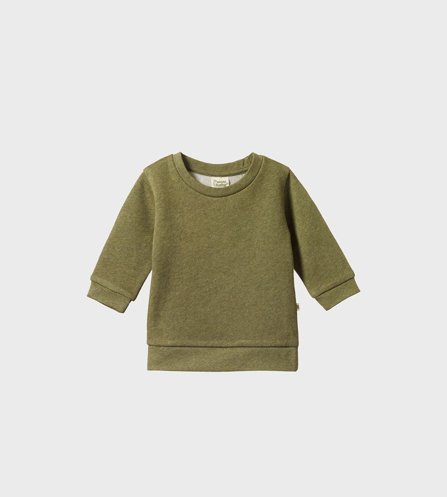 Nature Baby | Emerson Sweater | Cypress Marl