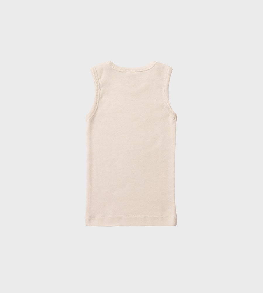 Nature Baby | Merino Essential Singlet | Natural