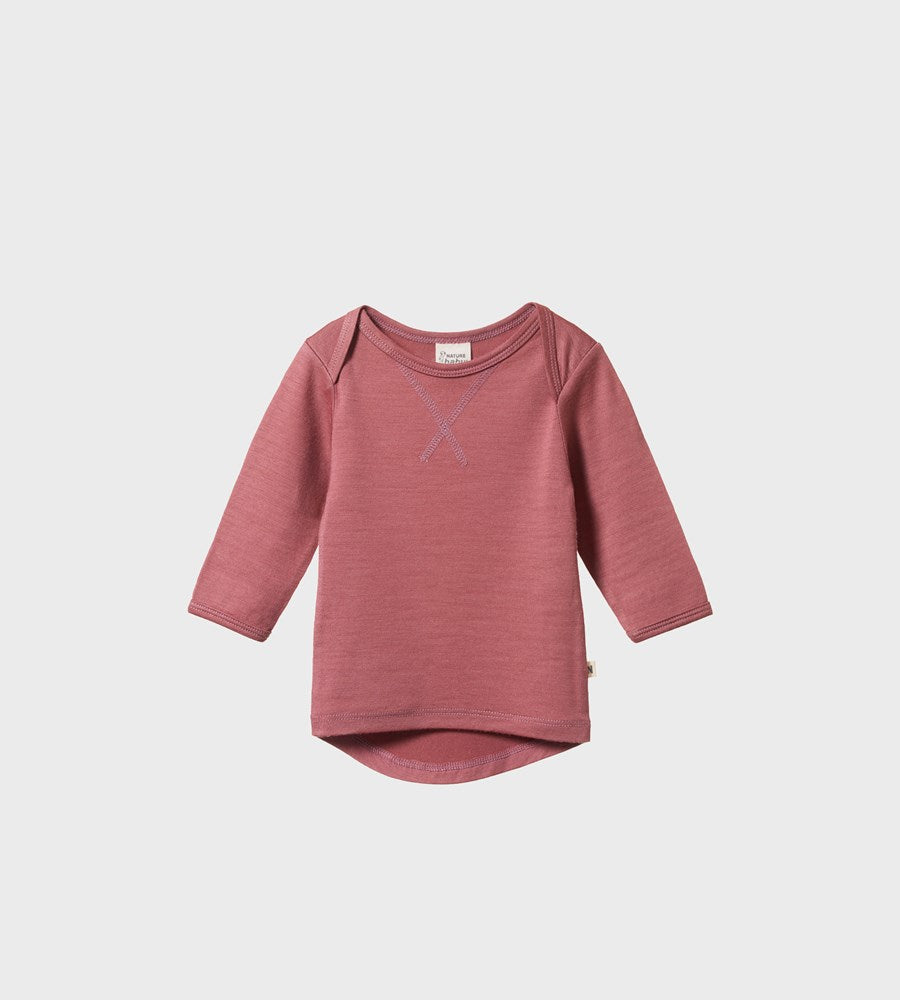 Nature Baby | Essential Tee | Woodland Rose