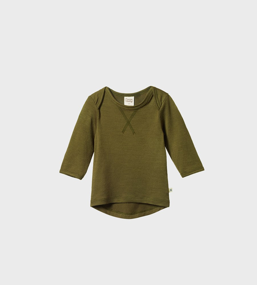 Nature Baby | Essential Tee | Fir Green