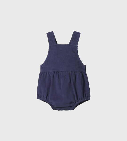 Nature Baby | Georgie Cord Romper | Navy