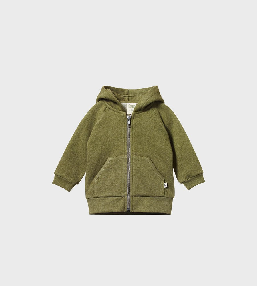 Nature Baby | Hoodie Sweatshirt Knit | Cypress Marl
