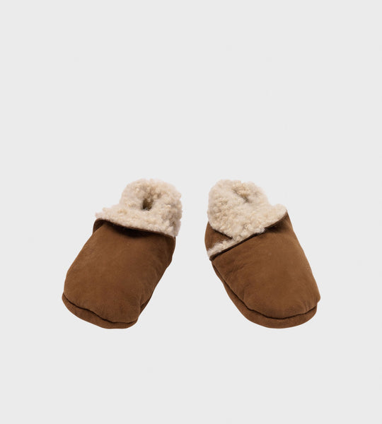 Nature Baby | Lambskin Booties | Cinnamon