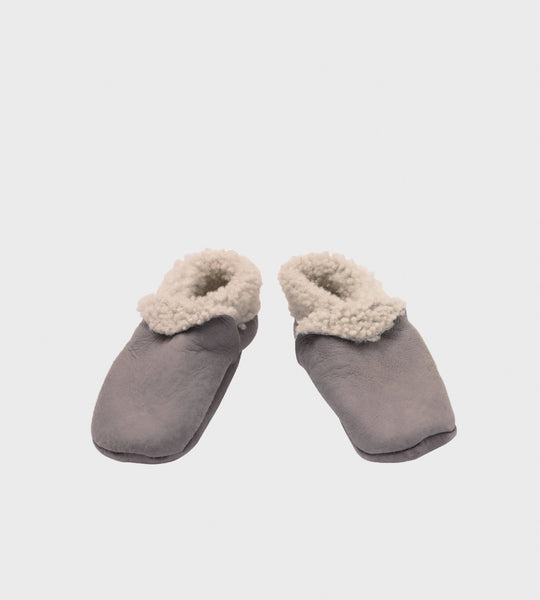Nature Baby | Lambskin Booties | Grey