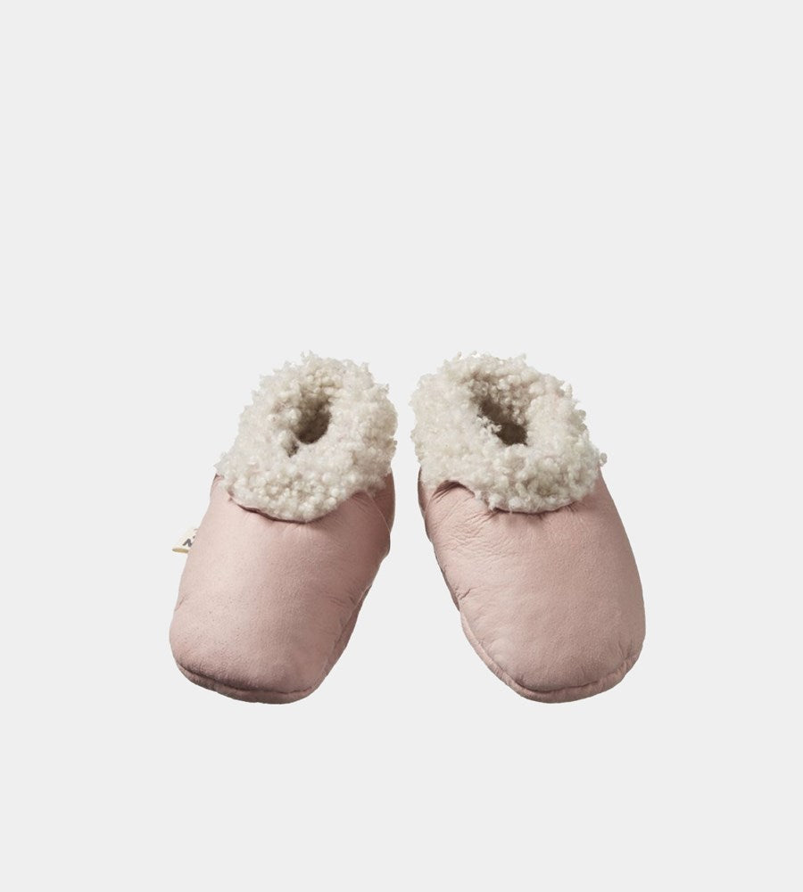 Nature Baby | Lambskin Booties | Rose Bud
