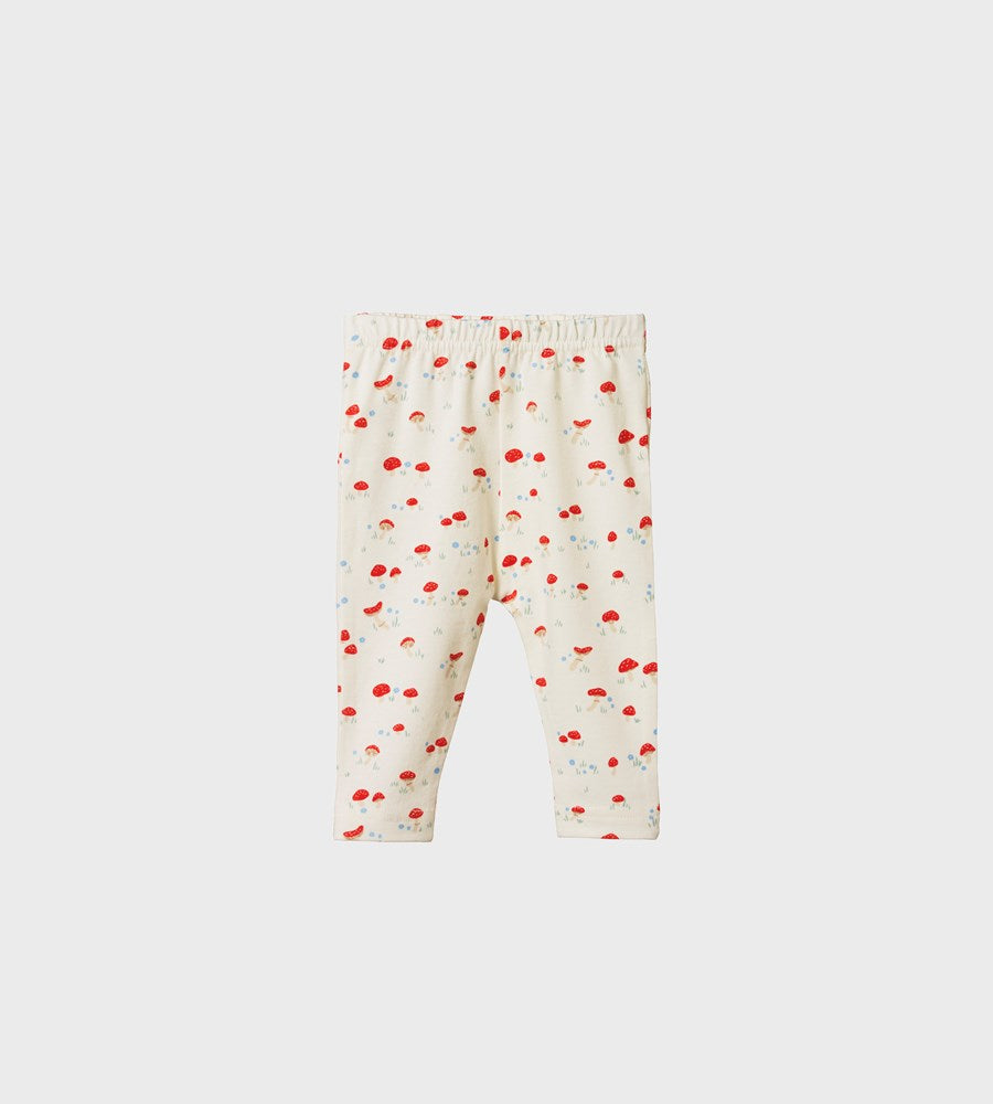Nature Baby | Leggings | Mushroom Valley Print