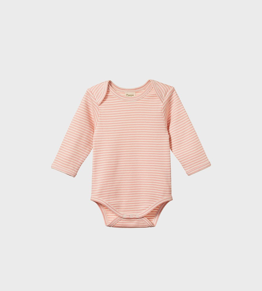 Nature Baby | Long Sleeve Bodysuit | Lily Stripe