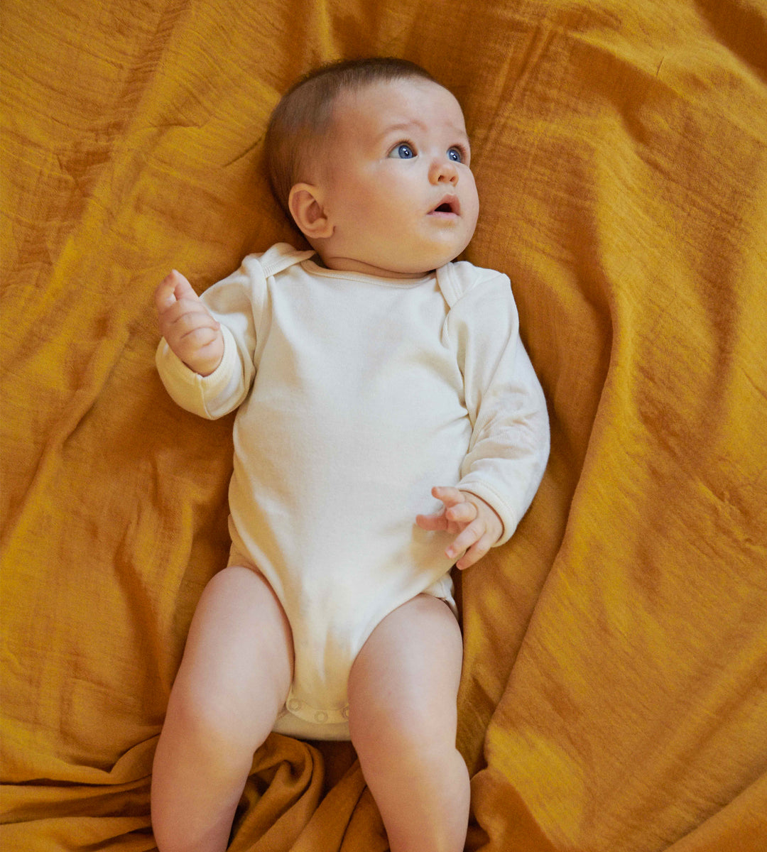 Nature Baby | Long Sleeve Bodysuit | Natural