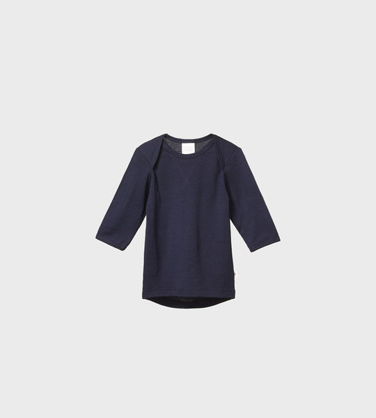 Nature Baby | Merino Essential Tee | Navy