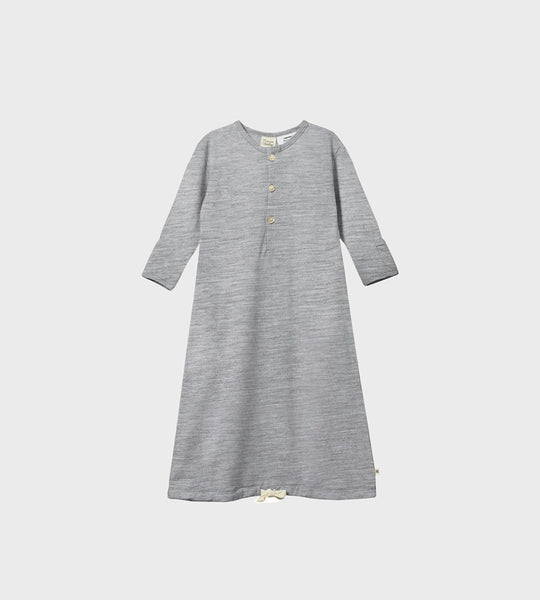 Nature Baby | Merino Gown | Grey Marl