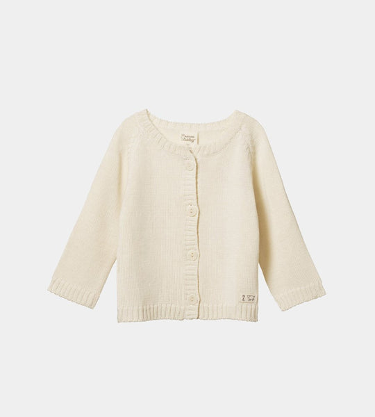Nature Baby | Merino Knit Cardigan | Natural