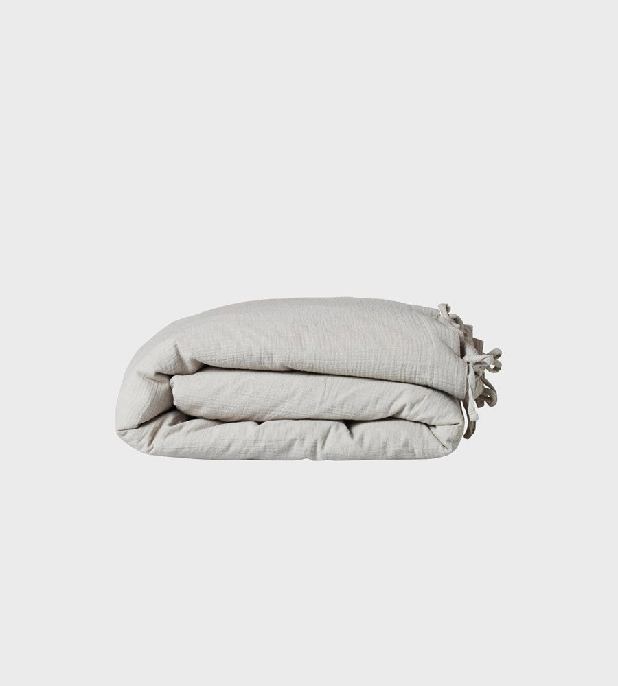 Nature Baby | Muslin Duvet Cover | Moonlight | Cot