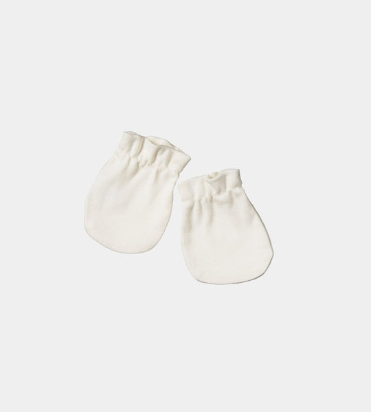 Nature Baby | Newborn Merino Mittens | Natural