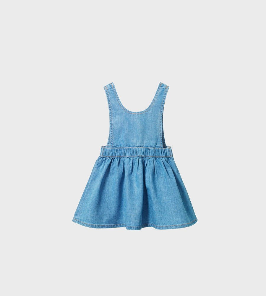 Nature Baby | Pia Pinafore | Sky