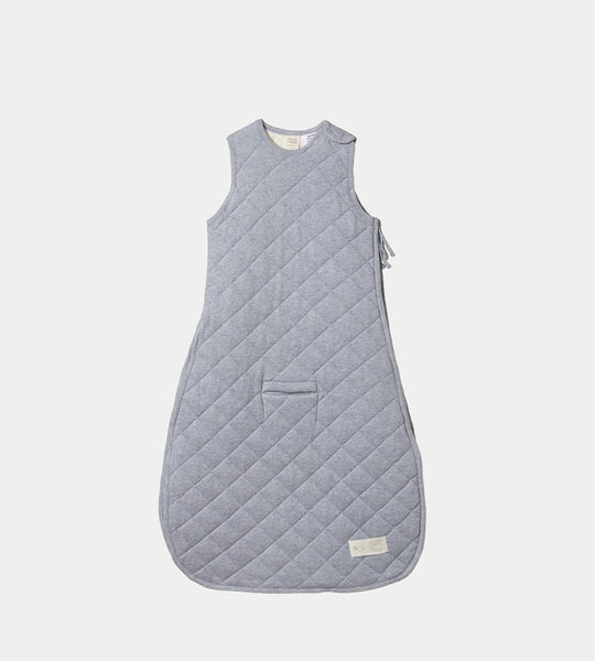Nature Baby | Quilted Duvet Sleeping Bag | Grey Marle