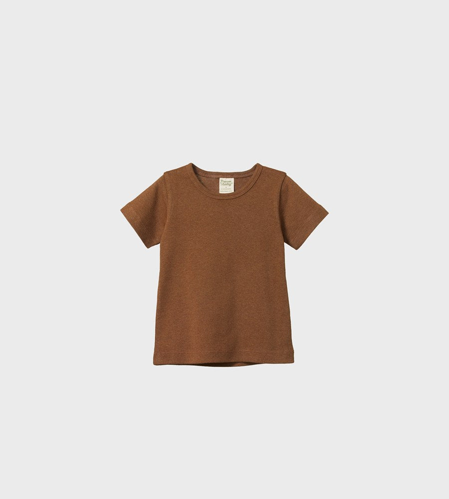Nature Baby | River Tee | Otter Marl