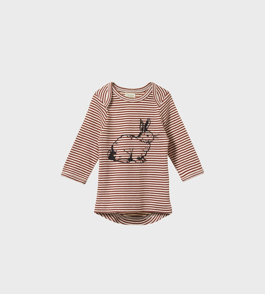 Nature Baby | Simple Tee | Burlón Bunny Print