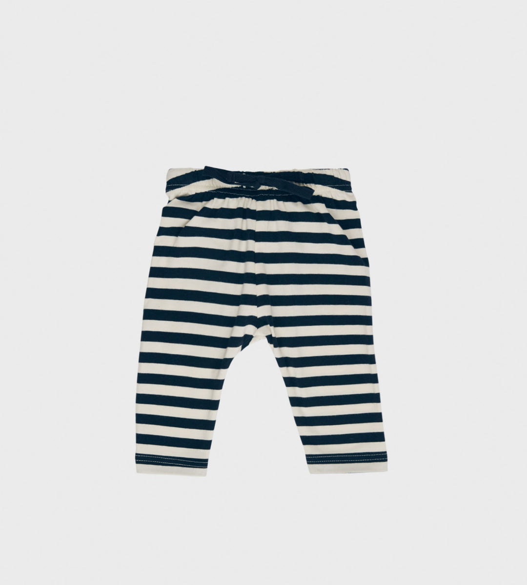 Nature Baby | Sunday Pants | Navy Sea Stripe