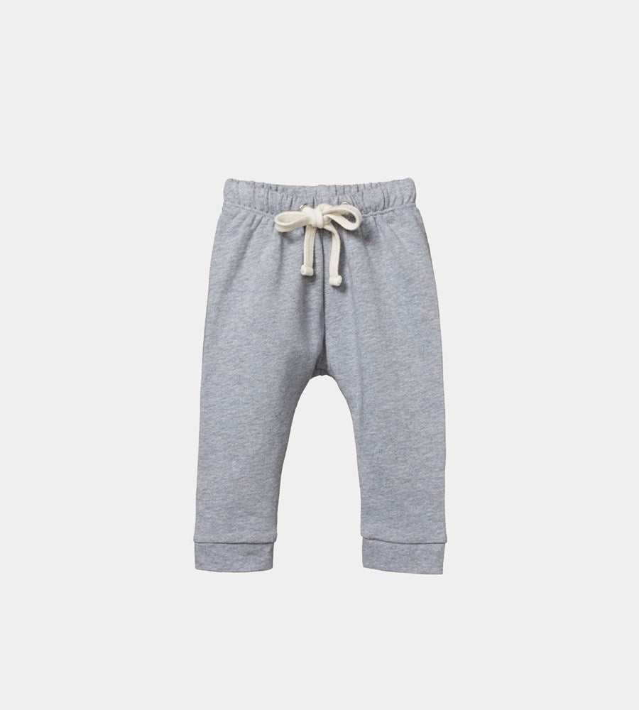 Nature Baby | Sunday Track Pants | Grey Marle