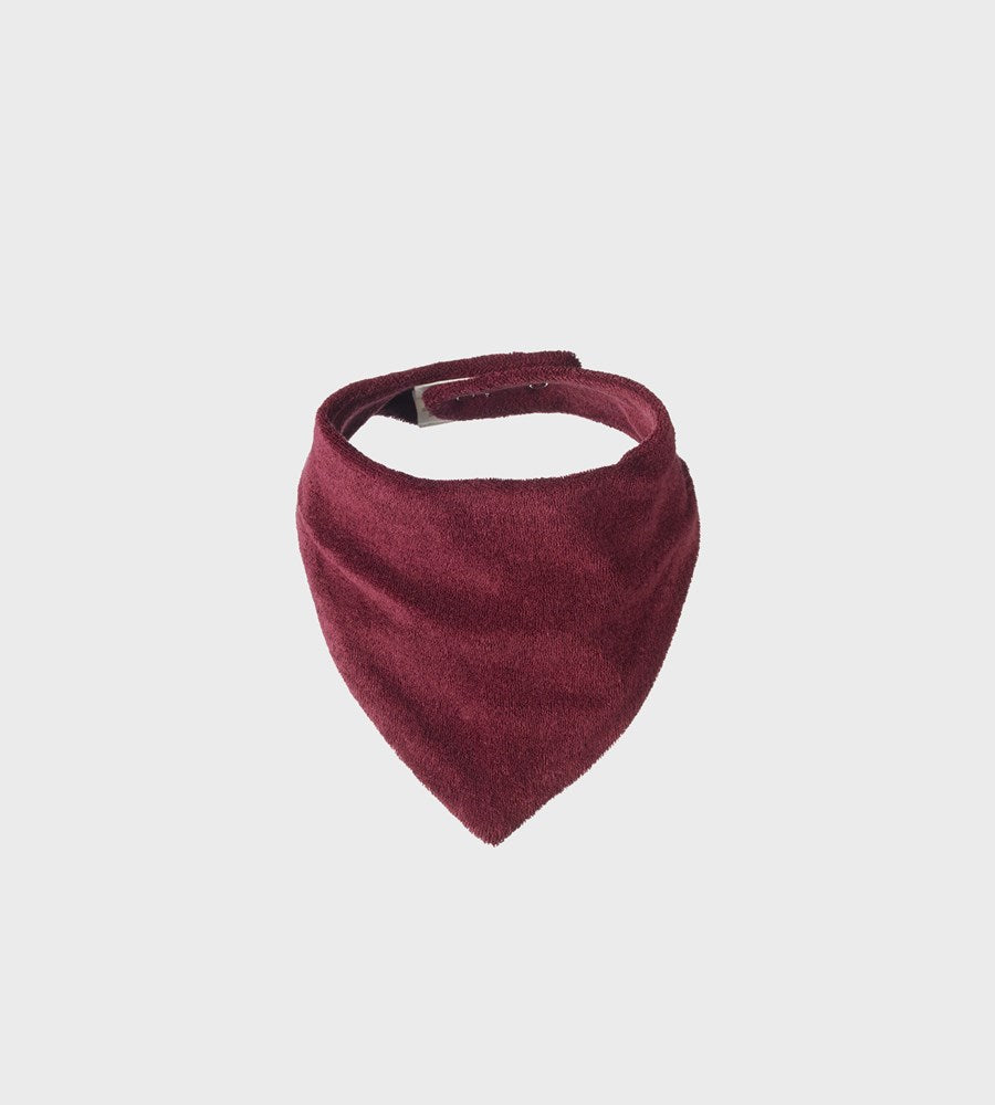 Nature Baby | Terry Triangle Bib | Berry