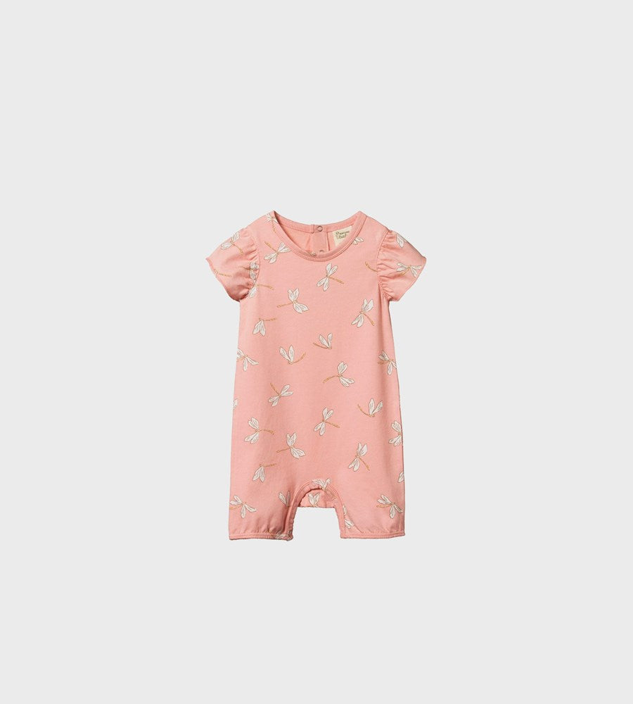 Nature Baby | Tilly Suit | Dragonfly Lily Print