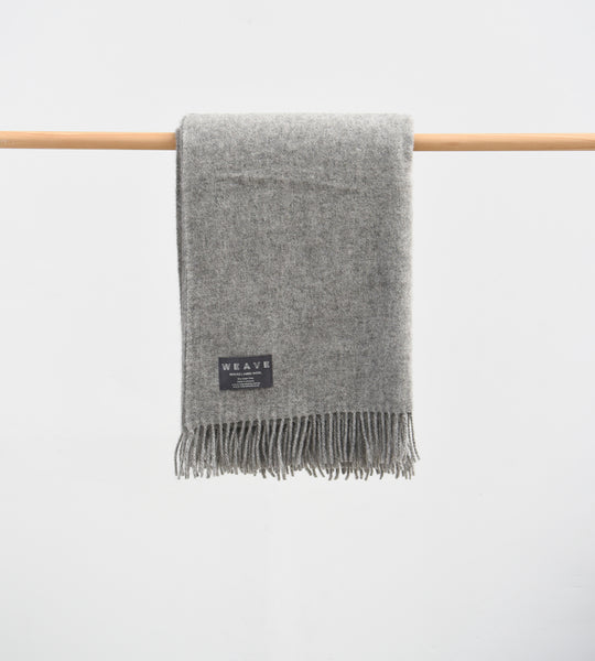 Nevis Throw | Charcoal