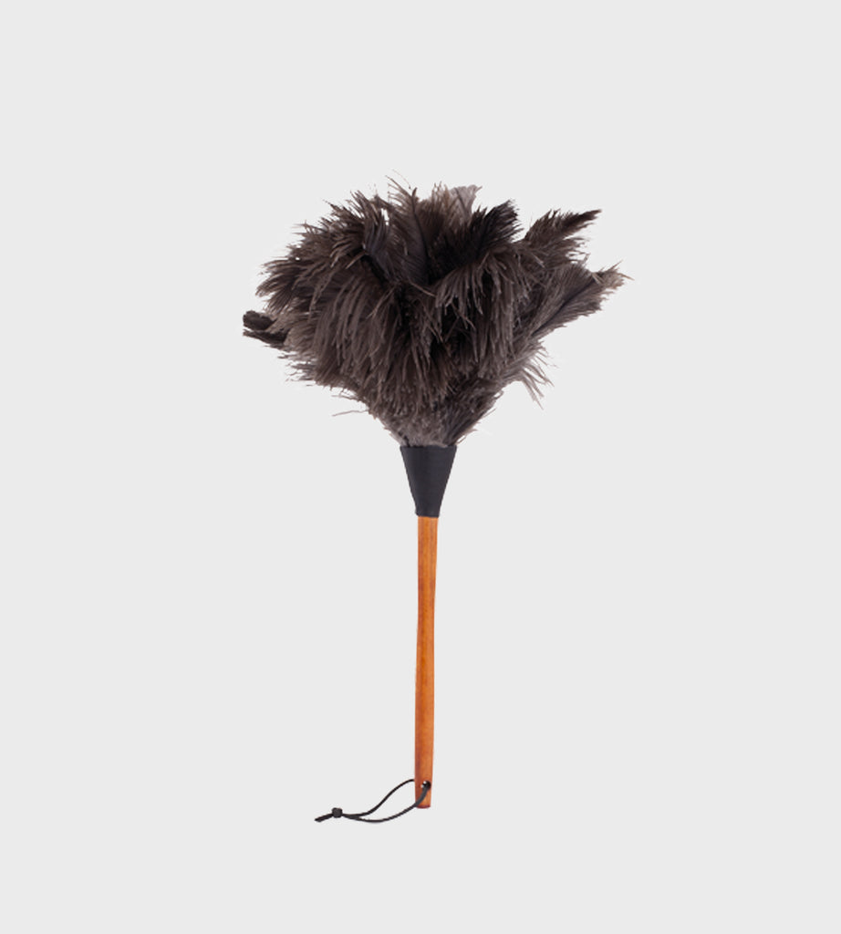 Ostrich Feather Duster | Black | Small