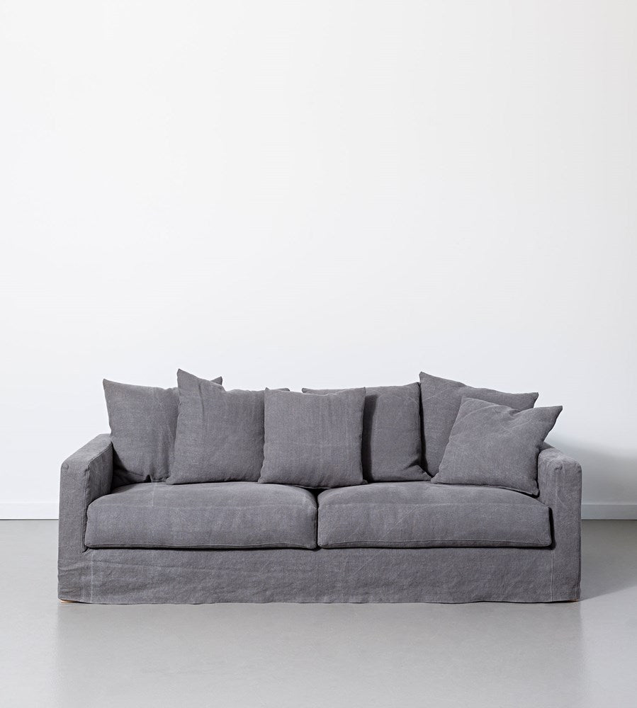 Papaya Amalfi Sofa Vintage Grey