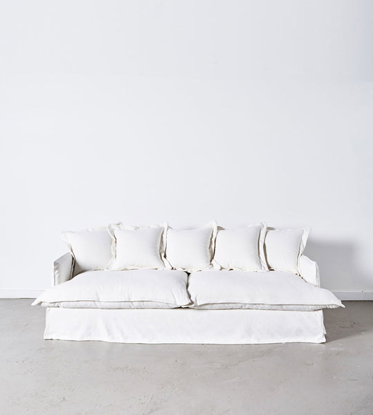Dawson Sofa | 3 Seater | White