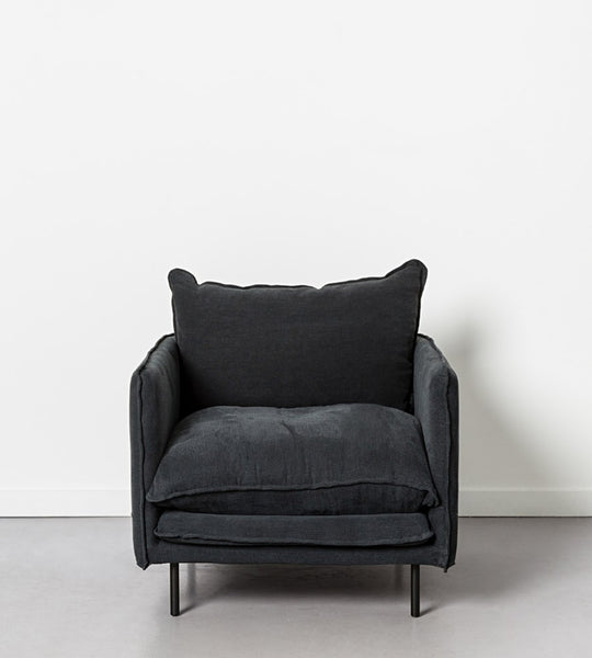 Lucas Armchair | Black